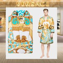 【18SS NEW】 VERSACE_men /LA COUPE DES DIEUXバスローブBL