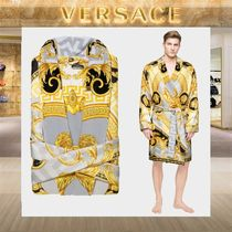 【18SS NEW】 VERSACE_men /LA COUPE DES DIEUXバスローブGY