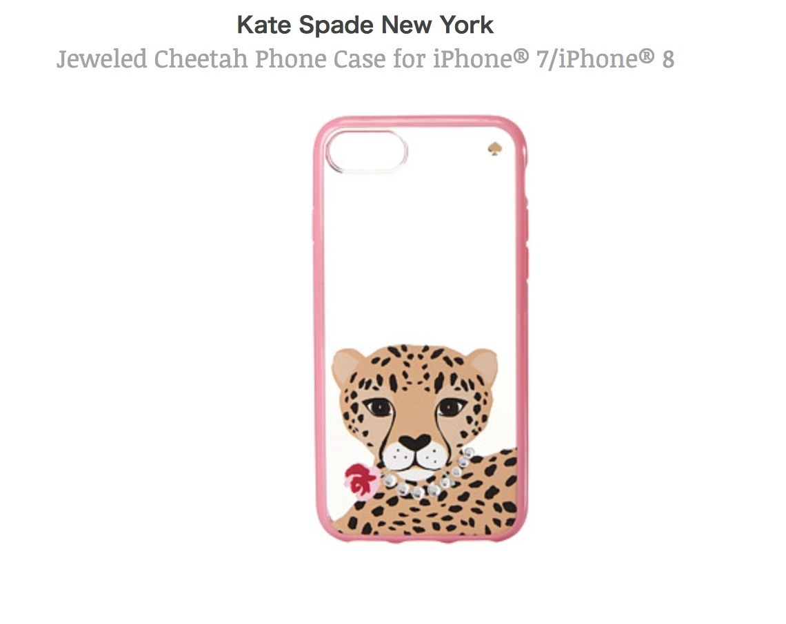 Kate Spade ケイトスペード iphone8 iphone7 iphoneケース