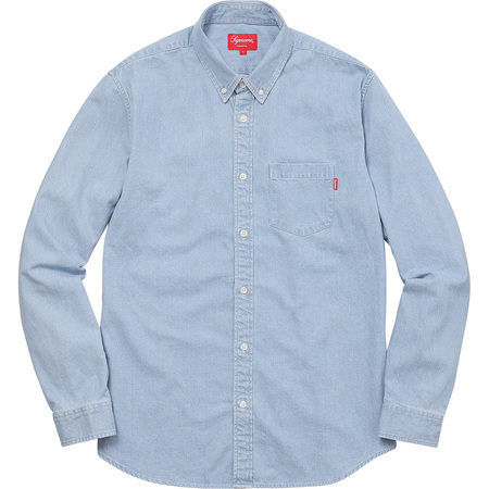 送料込み★Supreme Oxford Shirt Denim
