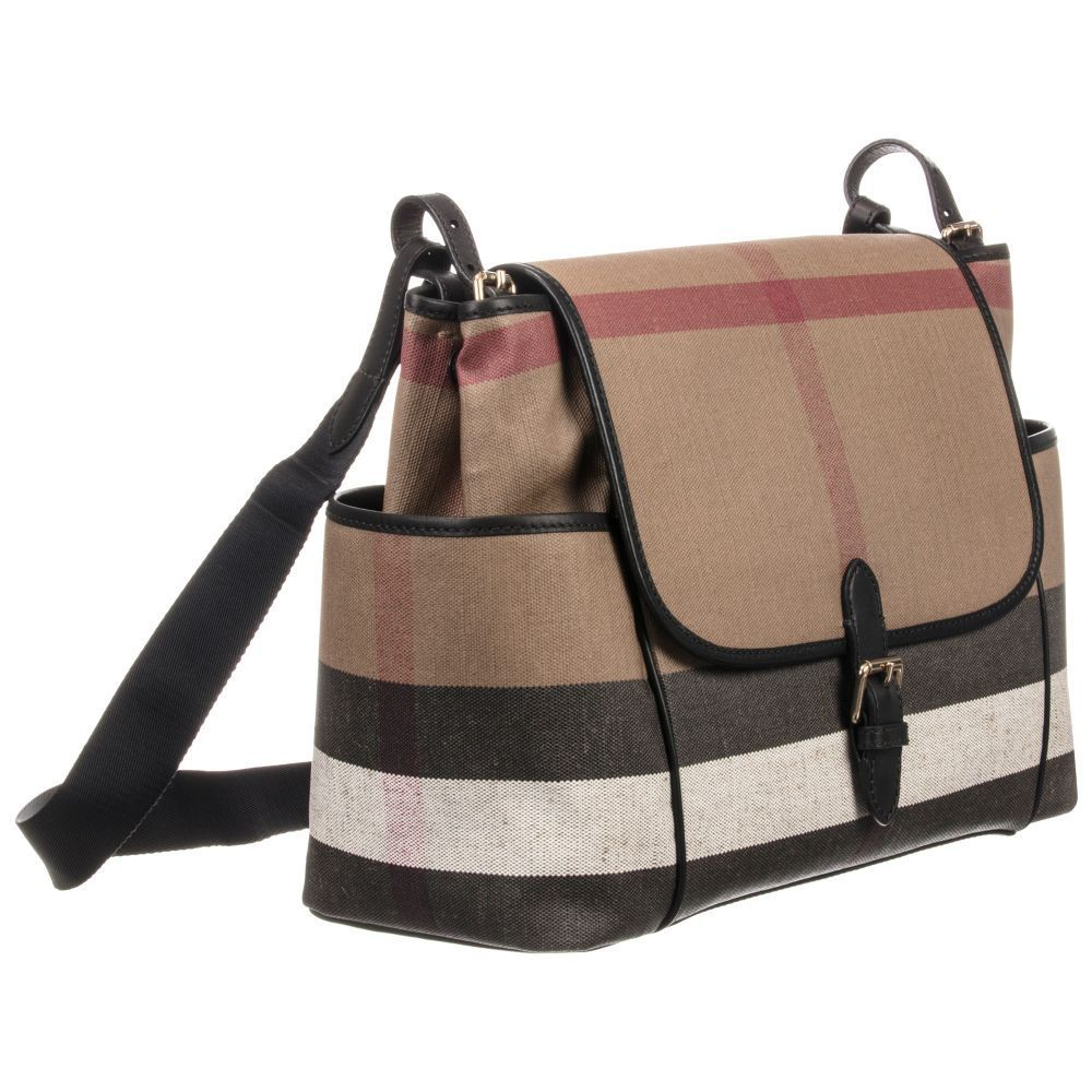Burberry(バーバリー) ● Canvas Baby Changing Bag (42cm) ★