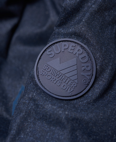〔Superdry〕 メンズ Echo Quilt Puffer Jacket