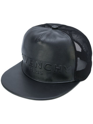 17AW新作! 一点のみ! GIVENCHY(ジバンシィ) ロゴ キャップ 黒