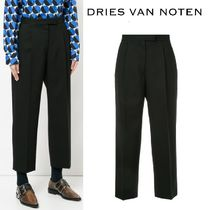 【17AW】大人気★Dries Van Noten★cropped tailored trousers