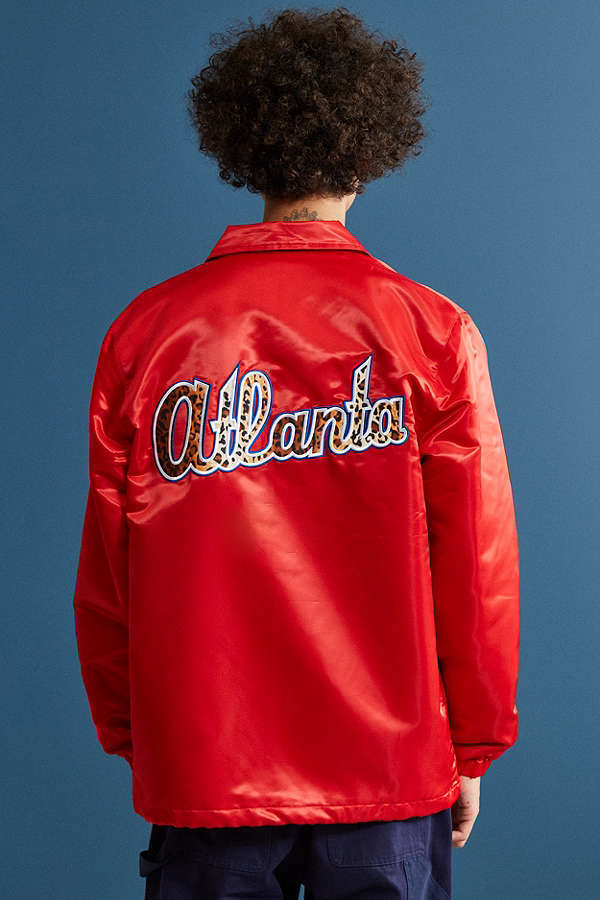【スターター×Urban Outfitters】Atlanta Braves ジャケット 赤