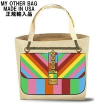 My Other Bag(マイアザーバッグ) トートバッグ My Other Bag トートバッグ ROXY RAINBOW 人気 セレブ 正規品