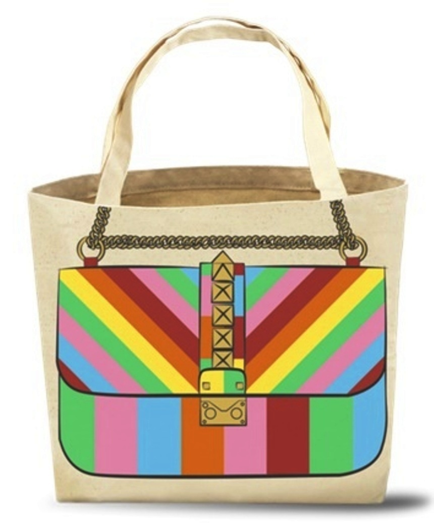 My Other Bag トートバッグ ROXY RAINBOW 人気 セレブ 正規品