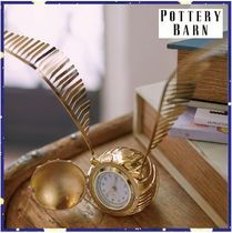 大人気*PotteryBarn*HARRY POTTER GOLDEN SNITCH Clock