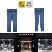 送料関税込!2018AW新作 MONCLER Cotton-Stretch Jeans