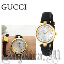 ★大人気★GUCCI Diamantissima Mother of Pearl Dial YA141404