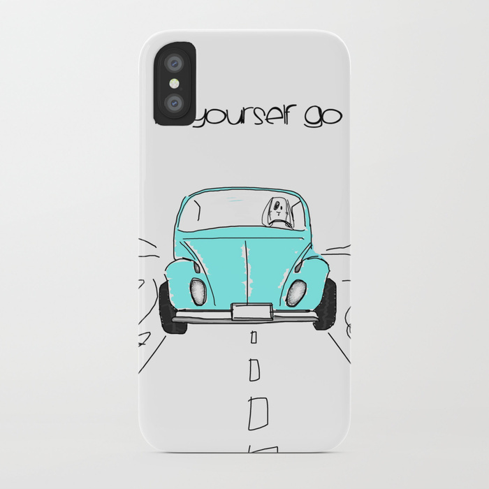 【Society6】iPhone7ケースLet yourself go 他機種変更可★