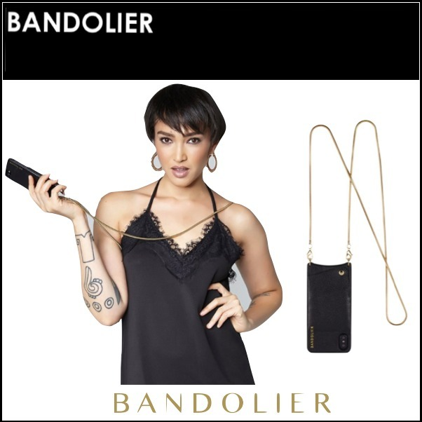 海外セレブ愛用【Bandolier】☆ iPhone X用 ☆ Gold X