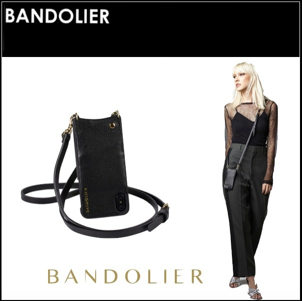 海外セレブ愛用【Bandolier】☆ iPhone X用 ☆ EMMA Gold X