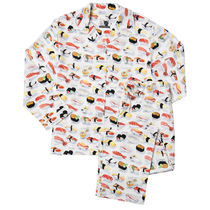 The Cat's Pajamas コットンパジャマ Sushi WH Mens:XL-3L