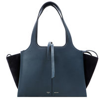 CELINE 17AW TRIFOLD SMALL トートバッグ_STEEL BLUE
