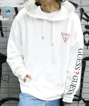 Guess × FREAK'S STORE 限定 ゲス ロゴ 袖プリント スウェット