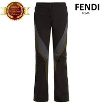 FENDI フェンディWonderski flared-leg padded ski trousers