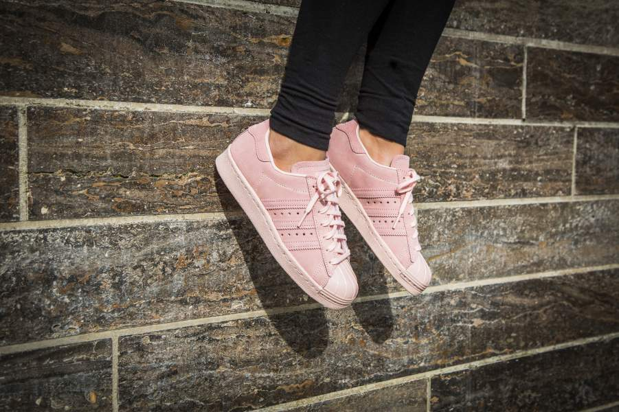 """★WMNS★[adidas]SUPERSTAR 80s METAL TOE W """"Icey Pink"""""""