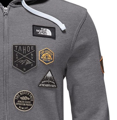 *THE NORTH FACE*ロゴワッペン付 パーカー LFC Patches Hoodie