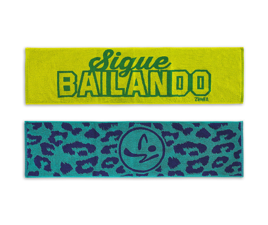 新作♪Zumbaズンバ Sigue Bailando Fitness Towels タオル2個