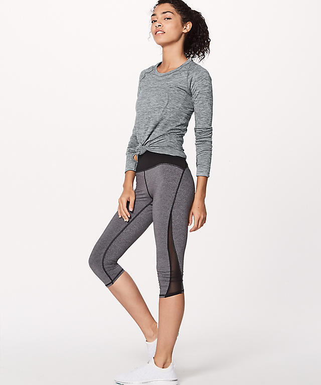 ★大人気★lululemon★Swiftly Tech Long Sleeve Crew★Slate