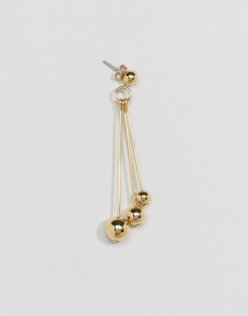◎送料込み◎ Whistles Triple Sphere Drop Earring