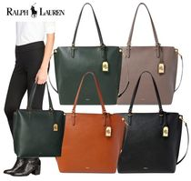 *Ralph Lauren*トートバッグ Medium Faux-Leather Abby Tote