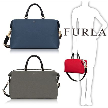 ★FURLA★Fox Printed Metropolis S Shoulder Bag