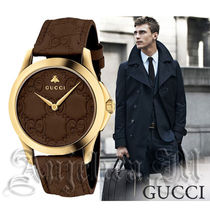 ★関税・送料込★GUCCI GG Dial Men's Watch YA1264035