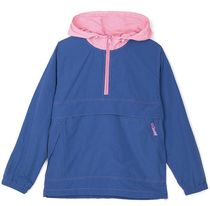 TWICE ダヒョン STUSSY CONTRAST STITCH PULLOVER JACKET