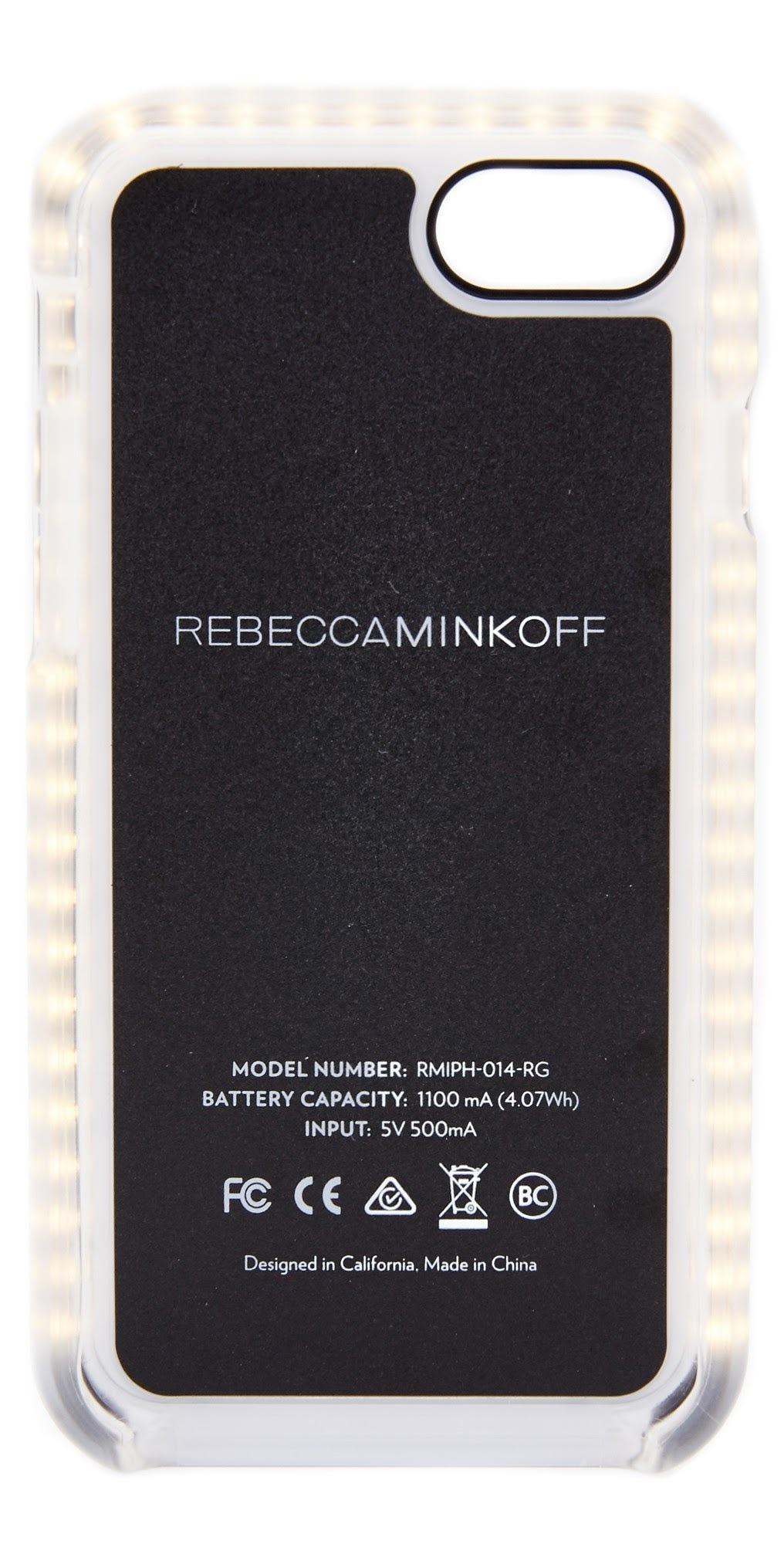 【国内発送,追跡,関税込】RebeccaMinkoff GLOW SELFIE iPhone7/8