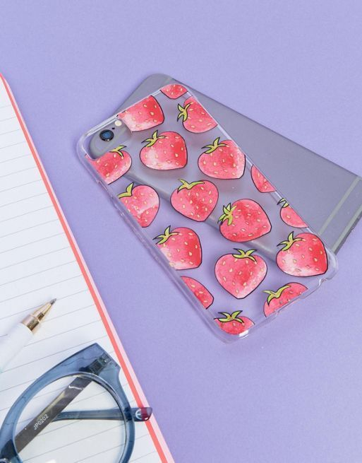 送料・関税込み!!Skinnydip Strawberry iPhone iphone ケース