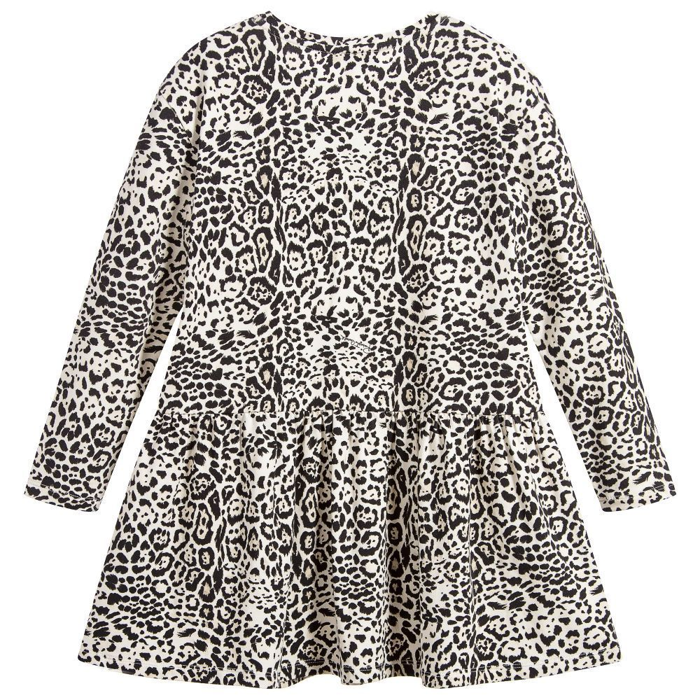 〜170大人もOK/Girls Leopard Print Dress