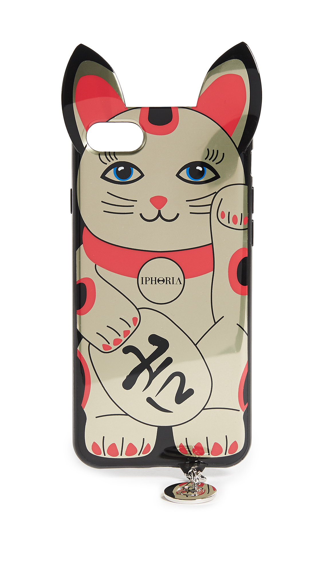 送料・関税込み!!Golden Lucky Cat IPhone X C iphone ケース