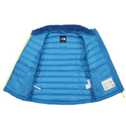 (ザノースフェイス) K'S BREEZE DOWN JACKET BLUE NJ1DI50U