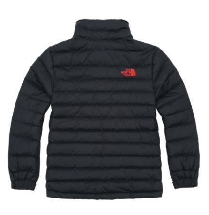 (ザノースフェイス) K'S BREEZE DOWN JACKET BLACK NJ1DI50S