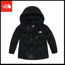 (ザノースフェイス) K'S EXPLORING DOWN JACKET BLACK NJ1DI55S