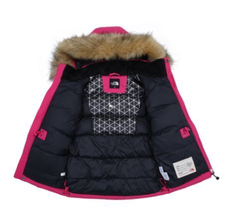 (ザノースフェイス)KS NEW MCMURDO DOWN PARKA HOTPINK NJ1DI51V
