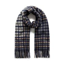 Mulberry Large Check Scarf