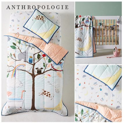 ANTHROPOLOGIE☆Tall Tales Kids Quilt☆税関送料込み