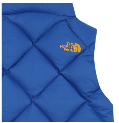 (ザノースフェイス)K'S PAWKING DOWN VEST ROYAL BLUE NKV1DH51