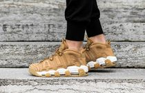 "[NIKE]AIR MORE UPTEMPO '96 PRM ""FLAX"""