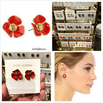 Tory Burch★Fleur Stud Earrings 花柄 ピアス*SAMBA