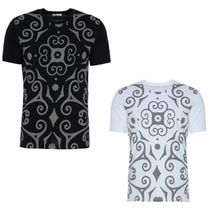 ☆Versace Collection☆Full Front Pattern T-Shirt 2 Colors