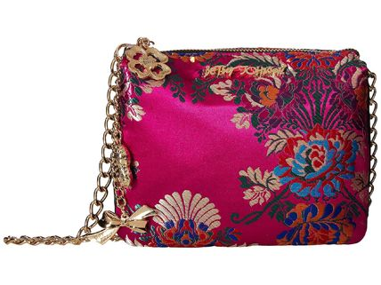 Betsey Johnson★Satin Chinoiserie Crossbody▽送料関税込