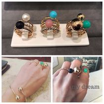 日本未入荷【Tiffany】 HardWear Color Ball Ring in 18k gold