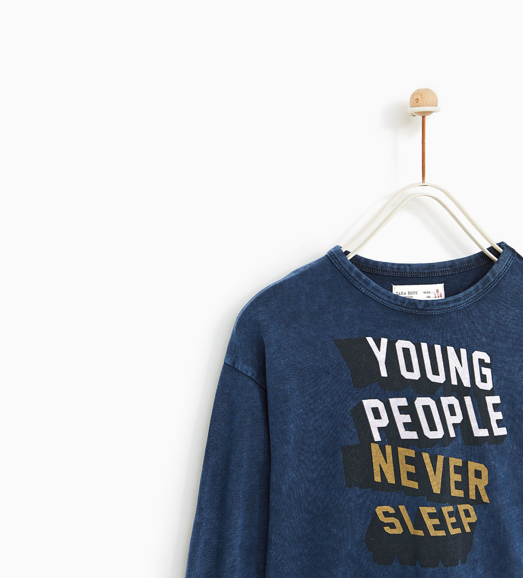 ☆ZARA  KIDS☆'YOUNG PEOPLE' Tシャツ
