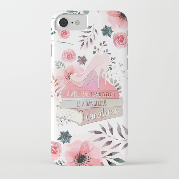 【Society6】iPhoneX,8/Plus,7/Plusケース 他機種有 ヒール 本