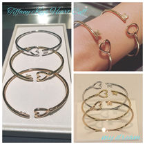 【Tiffany & Co】TIFFANY KEY Wire Heart Bracelet(全3色)