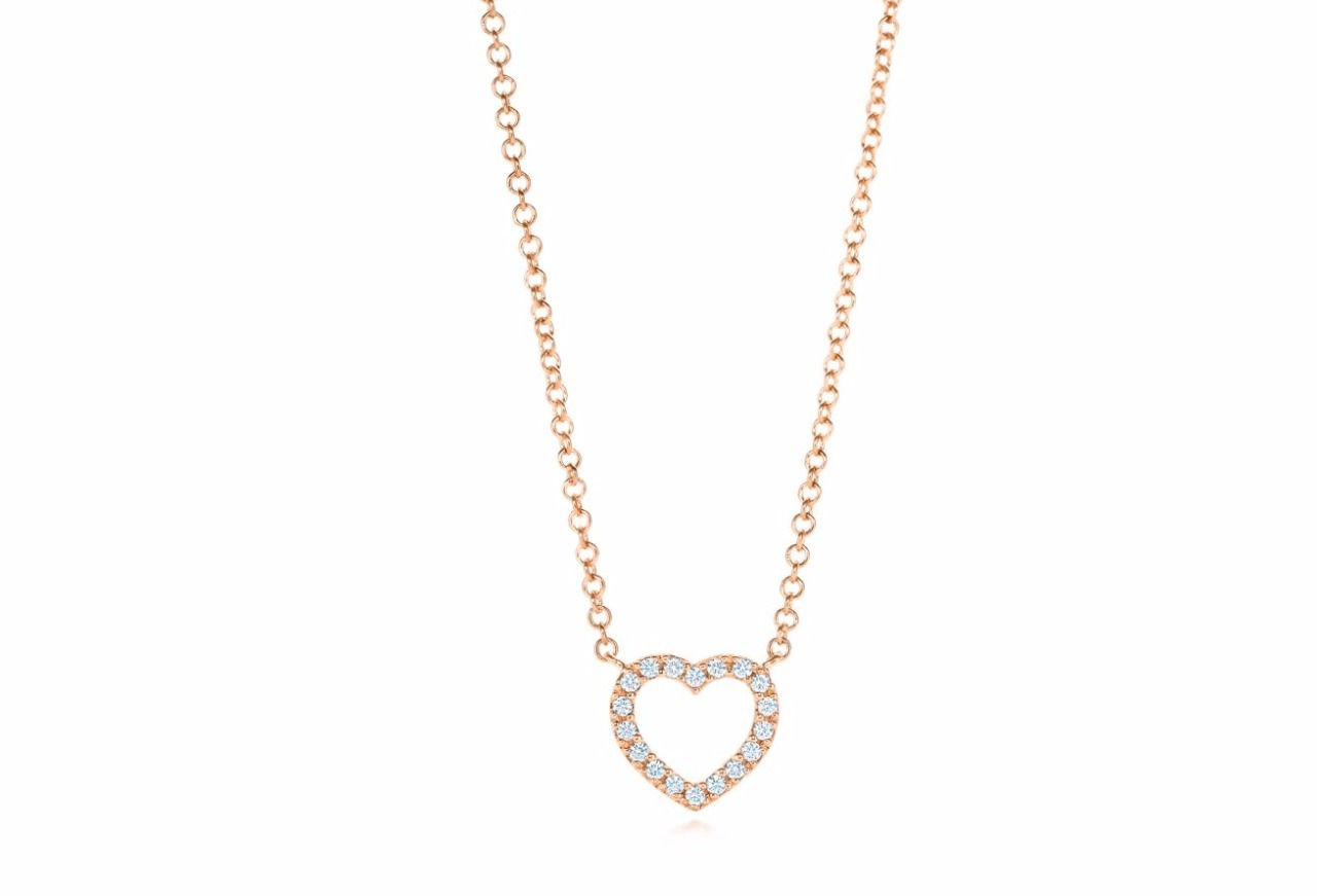 【Tiffany&Co】Heart Pendant Pendant mini in 18k Gold